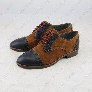 Image 2 - Neue film JOKER Joaquin Phoenix Cosplay Anime stiefel Schuhe Nach maß