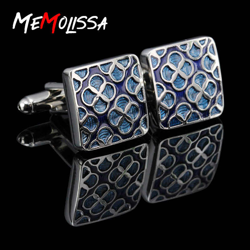 Promotion!!! Quality Shirt Cufflinks for Mens Brand cuff button de manchette Colorful cuff links abotoaduras Jewelry