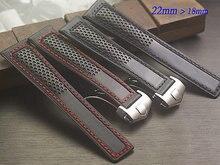 Спортивные кожаные ремешки, Складной пряжки ремня марокко, 22 мм движения стиль мужчины ремень, Быстрая доставка