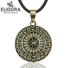 Винтажное бронзовое ожерелье eudora в виде шара гармонии подвеска