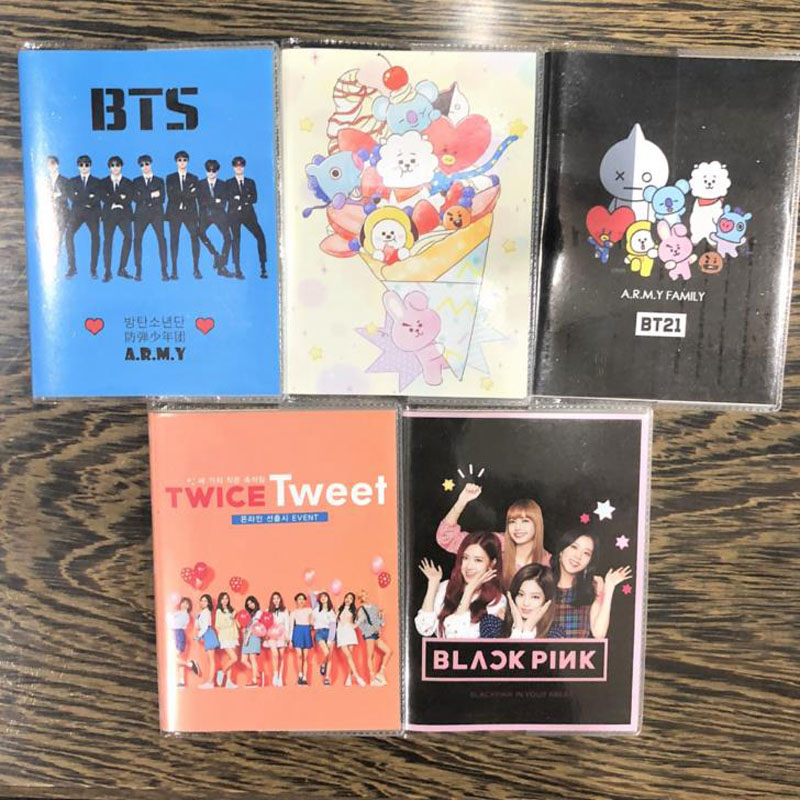 Sonderabschnitt 1 Pcs Kawaii Bangtan Boys Mini Tagebuch Übung Buch Blackpink Zweimal Cartoon Notebook Kpop Bts Offizielle Koreanische Sterne Schreibwaren Notebooks Office & School Supplies