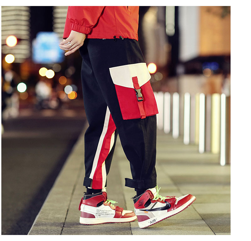 Cool Cargo Pants Men Casual Hip Hop Fashion (11)