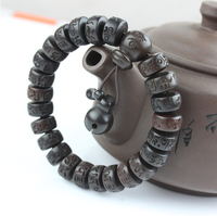 Vintage Tibetan Mala Jewelry For Men And Women Bracelets Buddhist Six Mantra Sculpture Love Bracelets 8