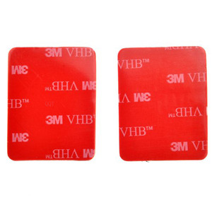 Image 3 - QQT 30 Pcs 3 M אדום דבק מדבקת כפול דבק קלטת מושפע עבור ללכת פרו גיבור 7 6 5 4 3 + עבור SJ4000 לxiaomi עבור יי