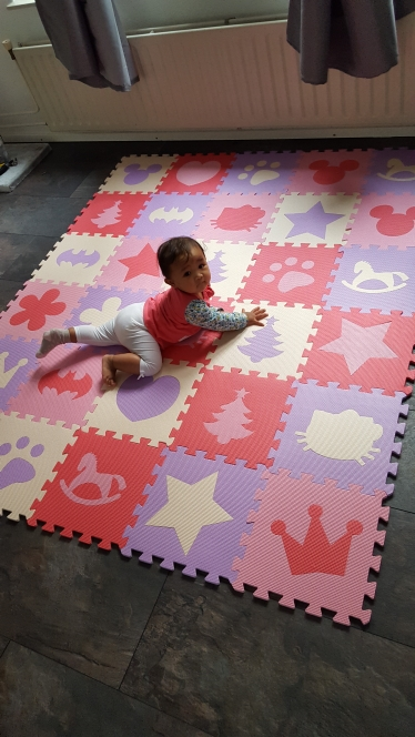 Children's soft developing crawling rugs,baby play Block number/letter/cartoon eva foam mat,pad floor for baby games 30*30*1cm | Happy Baby Mama