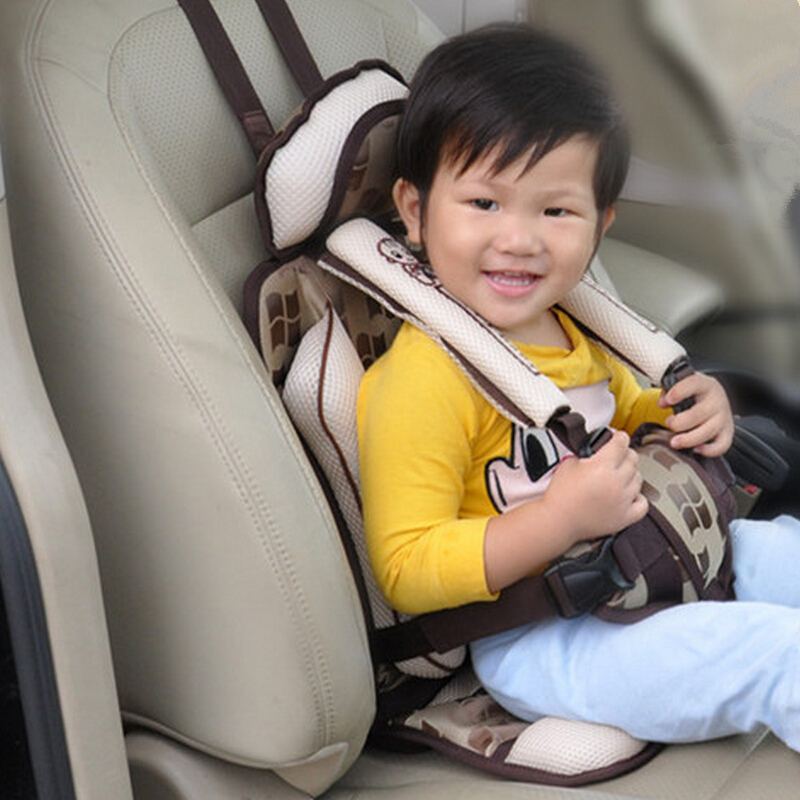 aliexpresscom buy portable baby safety car seats kids chairs in the car children sitting in booster car alzador silla auto baby auto seat cushion from