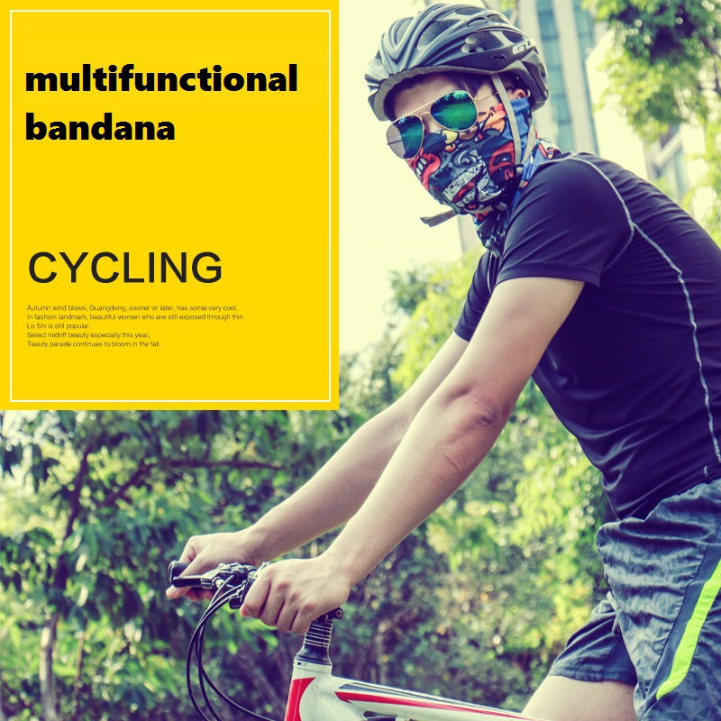 2016 New Bandanas Outdoor Sports Cycling Headband Magic Bandana Multifunctional Headwear Luxury