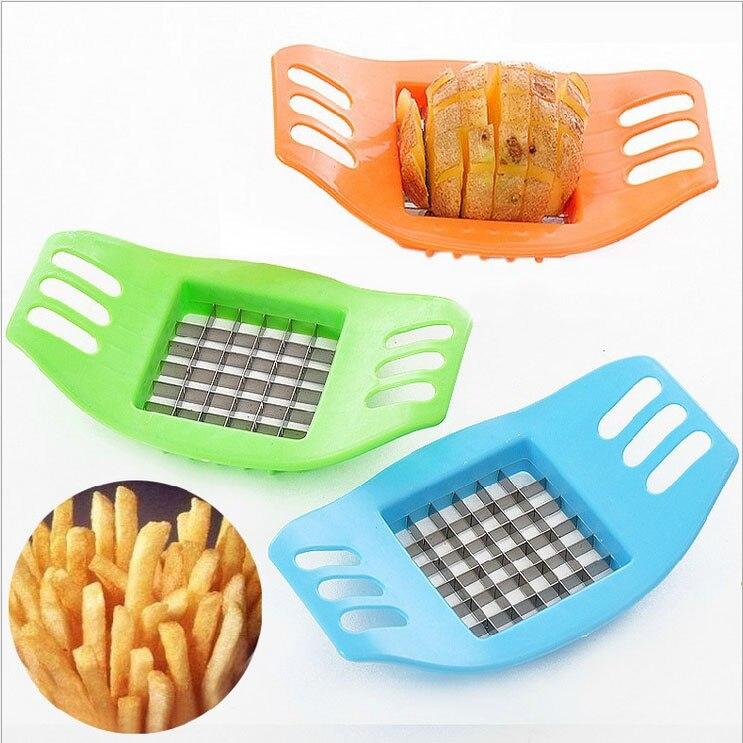 Free Shipping Creative home furnishing potato strip cutter new cut potato chips French fries machine  Картофель фри