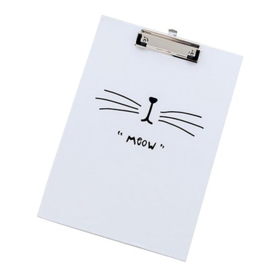 BLEL Hot Paper Cardboard Clipboard Office Office Board Folder 31.5*22cm,white