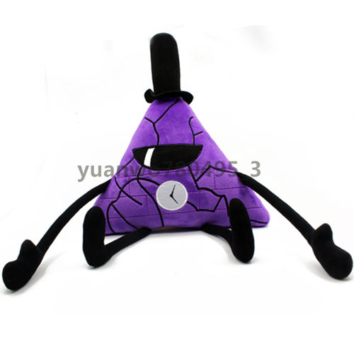 Giancomics Anime Gravity Falls Bill Cipher Plush Purple Toy Cosplay Festival PP Cotton Doll Kid Hugging Cushion Christmas Gift