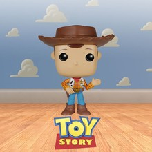FUNKO POP Disney Pixar Movie TOY STORY & WOODY Vinyl Action Figure brinquedos Collection Model toys for Children Birthday Gift(China)
