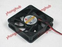 Emacro For Y.S.TECH FD126015 DC 12V 0.12A 2 wire 60x60x15mm Server Cooling Fan
