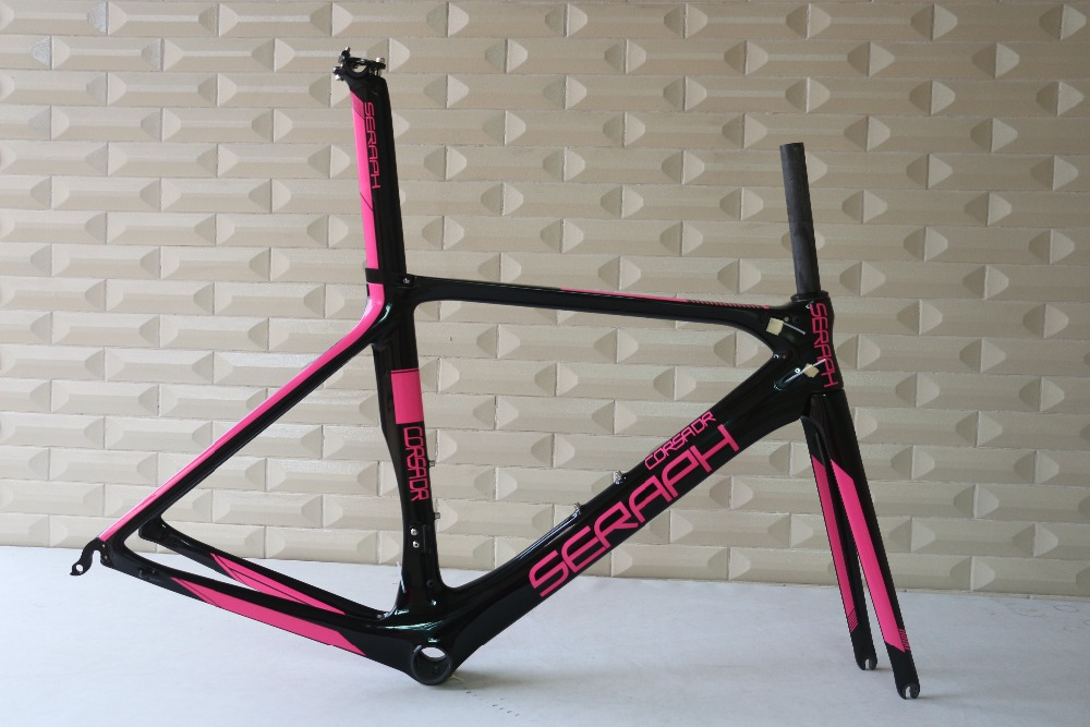 SERAPH BRAND Road Bicycle Frameset Carbon Bike Frame Fork seatpost BB86 FM286 OEM products