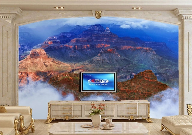 Usa Parcs Nuages Rocher Nature Photo Falaise Papier Peint Salon Tv