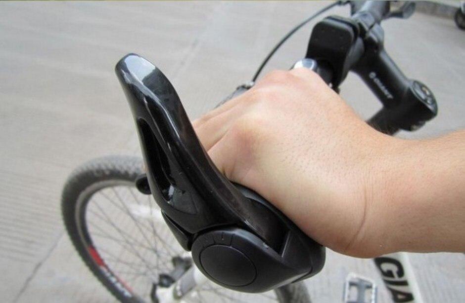 Aluminum Alloy Mountain Bike Handlebar Bar Ends Grips Cycle Bicycle Black