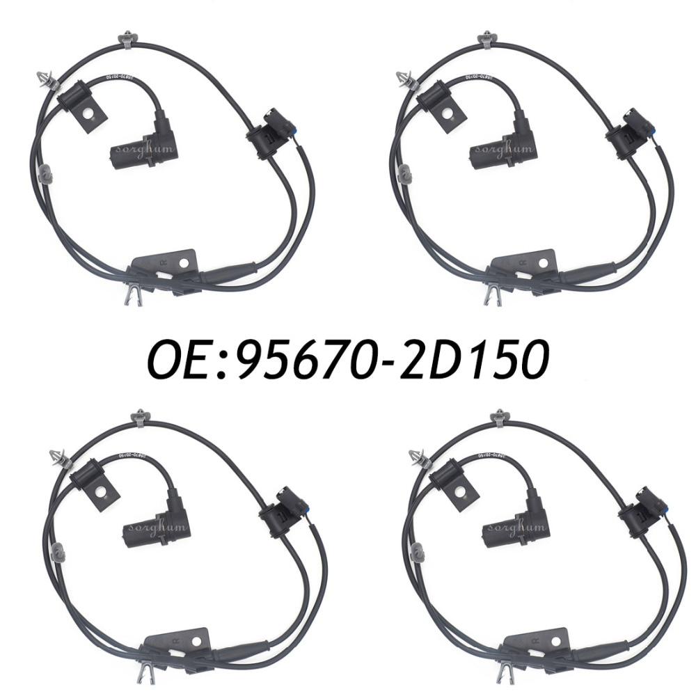 ABS Wheel Speed Sensor Front Right Left 95670-2D150 For 01-06 Hyundai Elantra