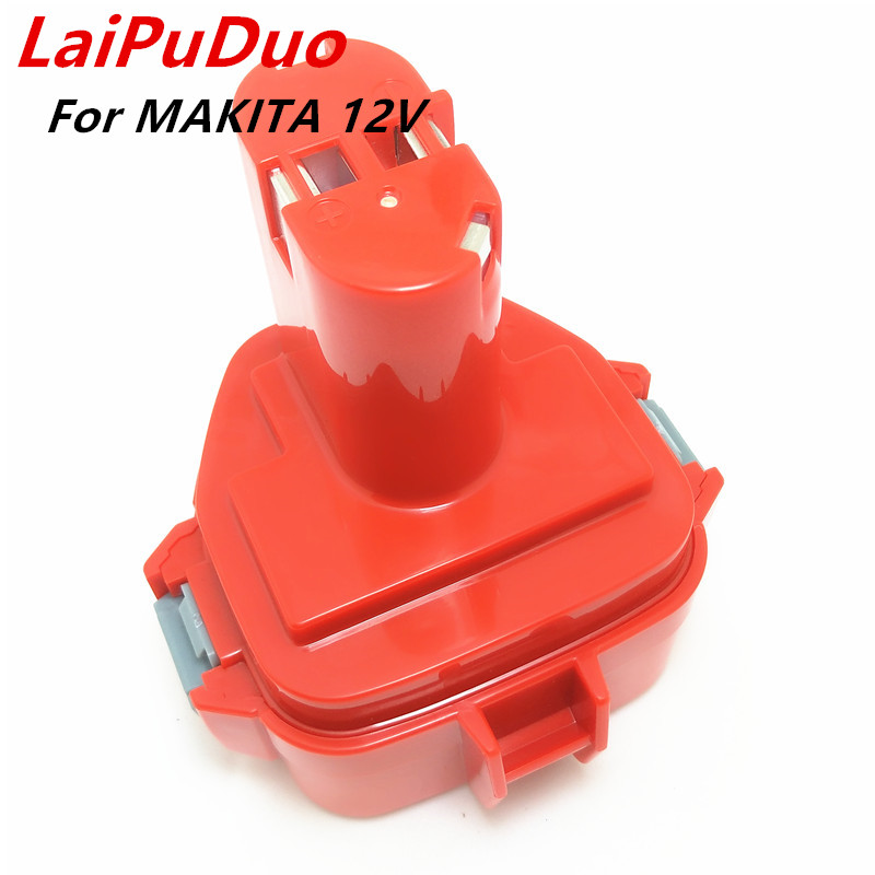 12V Ni CD Power Tool Battery for MAKITA 6227DWE 6213DWAE 6213DWBE 1050DWD 4331DWD 5093DWD 6835DWD echargeable