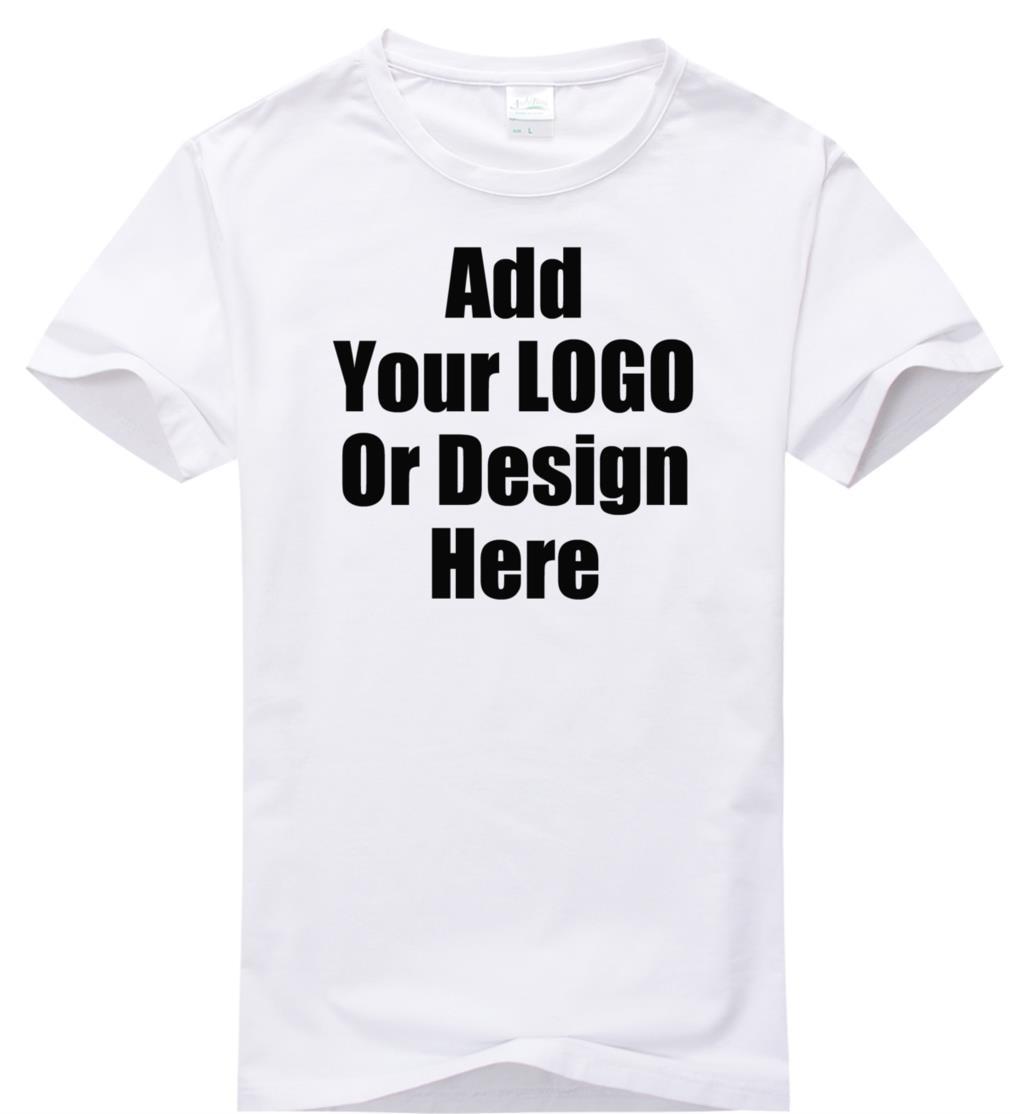 Design t shirt diy - High Quality Custom Logo Shirt Plain Tshirt 200 Gram Logo Diy Tshirt Customized Pattern Print Embroidery