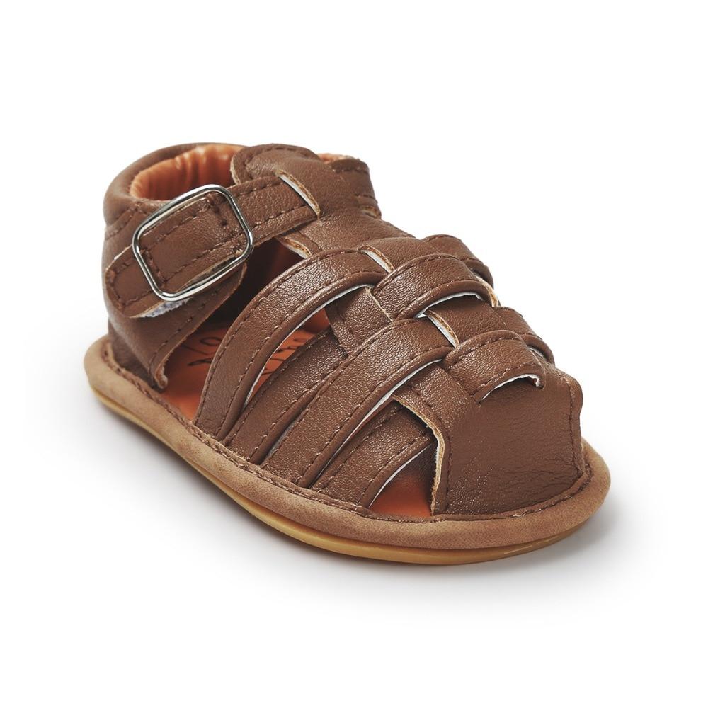 Bebe Mädchen Sommer Schuhe Baby Sandalen Leder Kinder Schuhe Jungen - Babyschuhe - Foto 5