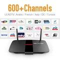 Android IPTV Europa Tunecino IPTV Caja de la TV Árabe Francés Caliente suscripción Deporte Canales Sky con WIFI 8 GB de Memoria HD Media jugador