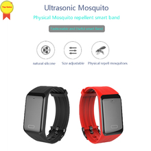 high quality Ultrasonic Repellent Camp new Anti-mosquito Wristband Smart Bracelet Adults Children Outdoor physical Anti Mosquito