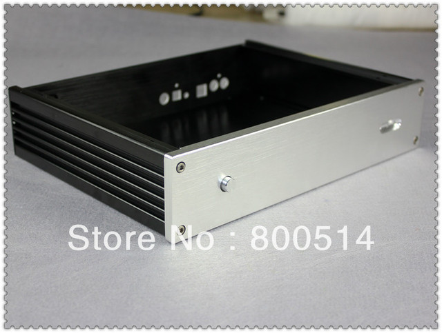 2806-2 Alumínio Gabinete dac/DAC/caixa/DAC7 adequado/DAC9/ES9018DAC/1541