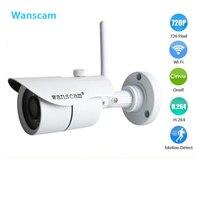 Waterproof IP Camera IR Cut Wireless Wifi 1 0Megapixel 720P HD Outdoor ONVIF P2P PNP