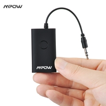 Mpow Bluetooth Music Receiver Streambot Pro Portable Bluetooth 3.0 Wireless Stereo MP3 Receiver Adapter for 3.5mm Audio Device