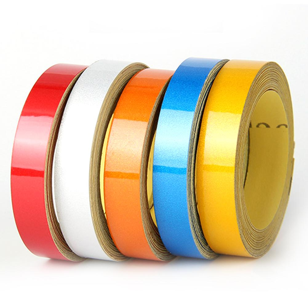 Car Adhesive Reflective Stripes Tape Self Adhesive Protective Car Styling Auto Exterior Accessories 5 Colors Car Body Stripe