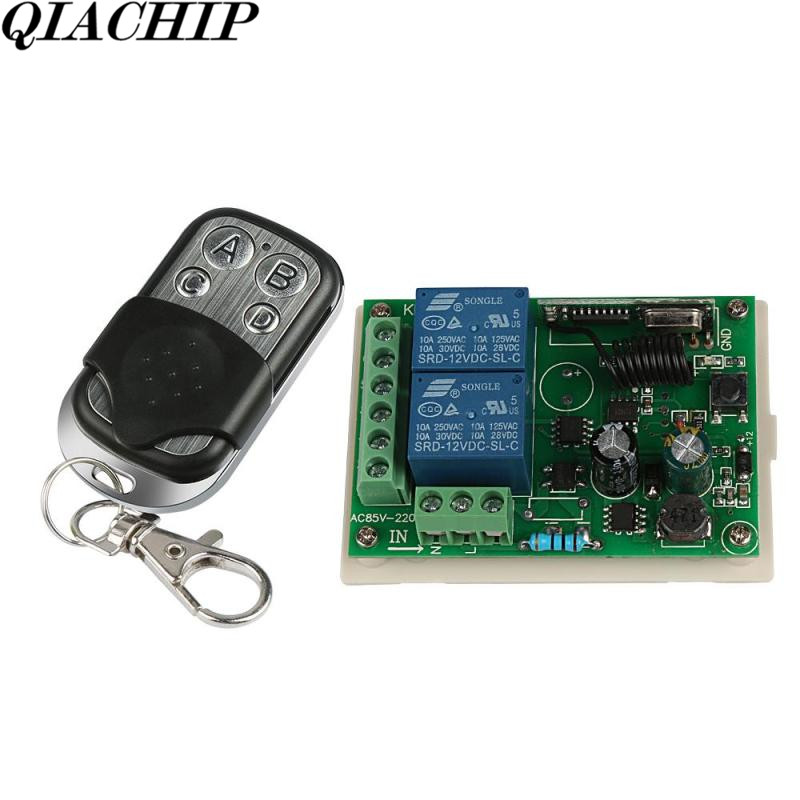 Universal Wireless 433Mhz DC12 Remote Control Switch 2CH Relay Receiver Module RF 433 Mhz 4CH Electric Lock Remote Control DS35 40km h 4 wheel electric skateboard dual motor remote wireless bluetooth control scooter hoverboard longboard