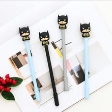 3pcs/lot kawaii Creative batman gel pen Neutral pen stationery material escolar office school supplies Free shipping цена