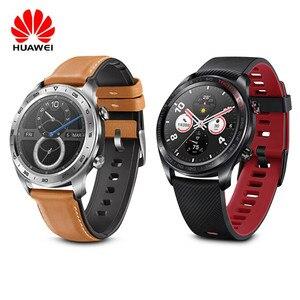 Image 1 - Huawei relógio inteligente mágico com rastreador de fitness, tela colorida de amoled 1.2 hd, bluetooth, gps, monitor de frequência cardíaca para android/ios