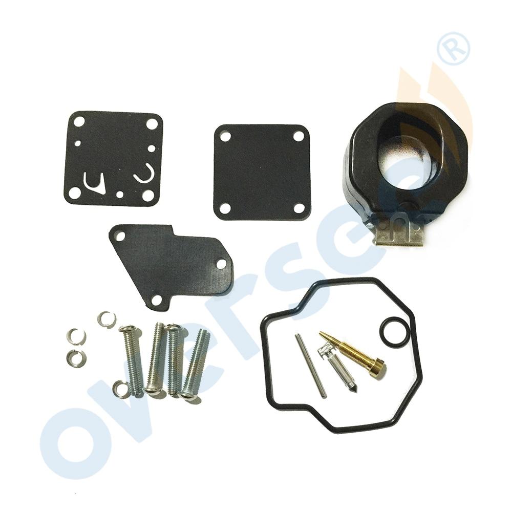 6E0-W0093-00-00 Carburetor Repair Kit For Yamaha 4HP 5HP Outboard Motors Boat Motor Aftermarket Parts 6E0-W0093