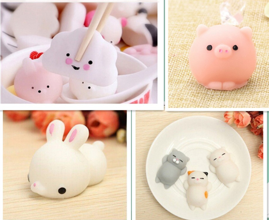 Bunny Wishes Squishy : Kawaii Bunny Rabbit Pig Cloud Cat Squishy Squeeze Healing Stress Reliever Toy Gift Decor Slow ...