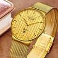 LIGE Mode Herren Uhren Top Brand Luxus Ultra Dünne Quarzuhr Männer Stahl Mesh-Armband Wasserdicht Gold Uhr Relogio Masculino