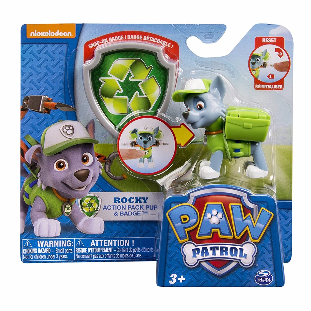 Us 9 95 50 Off New Arrival 1pc Genuine Paw Patrol Kid Toy Puppy Patrol Patrulla Canina Patrol Canine Rocky Zuma Apollo Toy Doll Kids Gift In Action