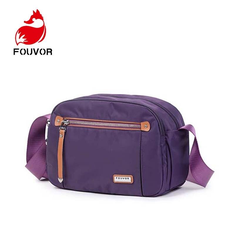 Fouvor Nylon Women Messenger Bags Small Purse Shoulder Bag Female Crossbody Bags Handbags High Quality Bolsa Tote Beach-in Top-Handle Bags from Luggage & Bags    1