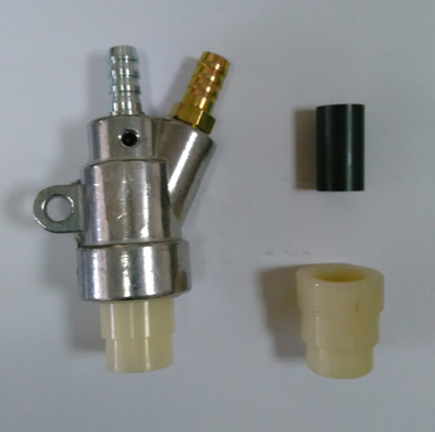B type Sandblaster gun with one boron carbide nozzleB type Sandblaster gun with one boron carbide nozzle