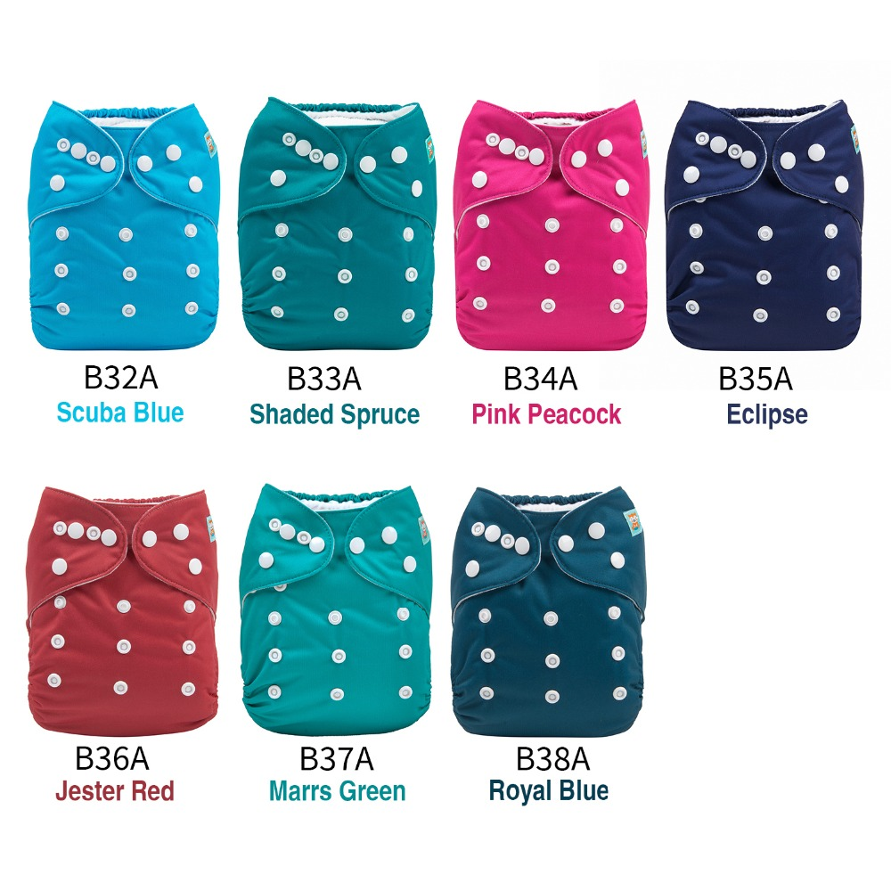 New Plain Diapers