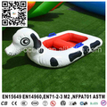2016 Fun inflatable water sports toy for water park, inflatable floating water spotty dog boat