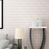 Beibehang Retro Brick Wallpaper Green Brick 3D Stereo Bump Foam White Brick Clothing Shop Cafe 3d