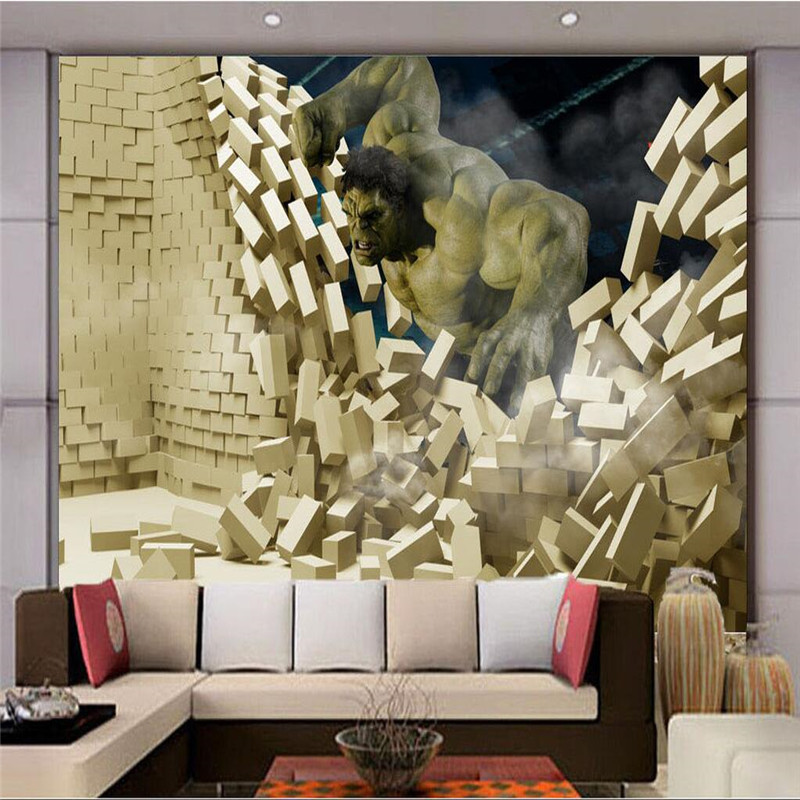 Hulk wallpaper promotion shop for promotional hulk for Chinese movie mural