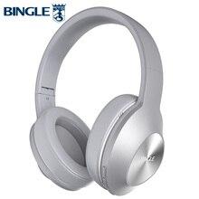 Bingle Q5 складные шумоподавления BT 4,1 Накладные наушники стерео беспроводные Bluetooth наушники Casques для аудио, студии, ТВ