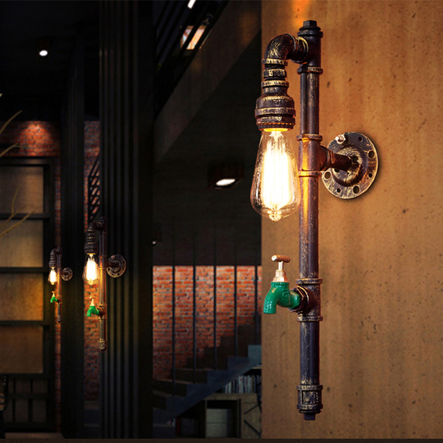 Retro Industrial Style Wall Lamp