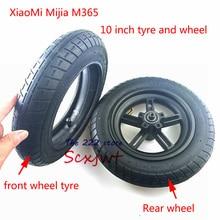 Модернизированный 10-дюймовый электрический скутер Xiaomi Mijia M365, шины для передних моторных колес и надувные задние шины, колеса 10x2, внешняя внутренняя трубка