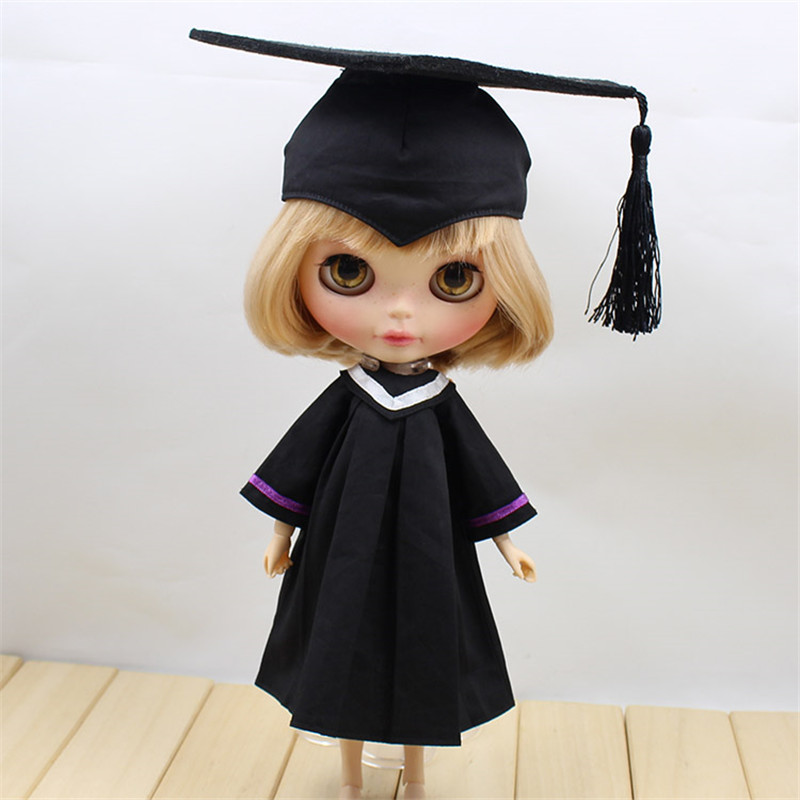 Clothes For 1/6 Blyth Baccalaureate Gown Academic Dress Without ...