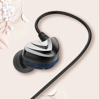 Fidue A73S Balanced Armuture + Dynamic BA+DD HIFI Music Monitor 3D HD MP3 Stereo Earphones Earbuds w/ Mic For iPhone Android HTC