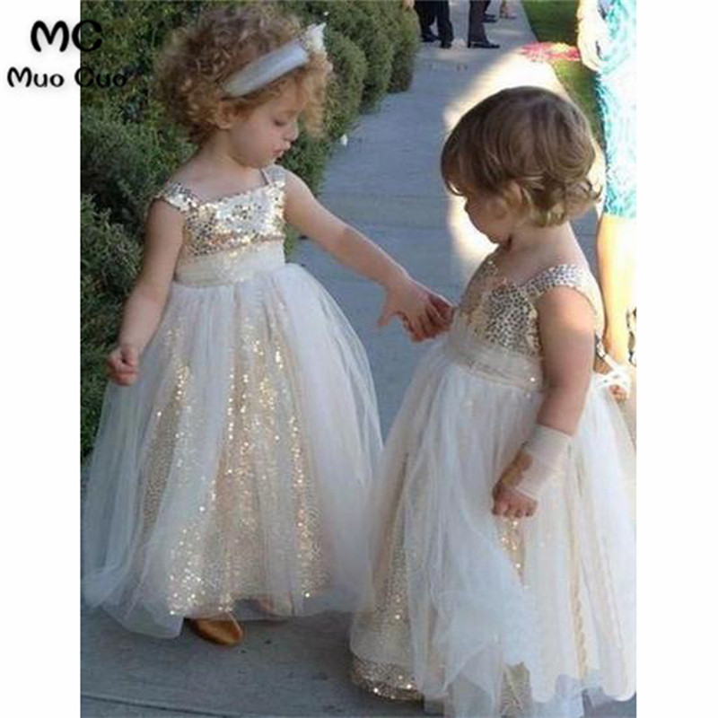 2018 Fancy Dress Ball Gown first communion dresses for girls with ...