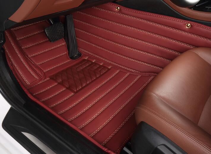 Good quality! Custom special floor mats for Infiniti FX50 2015-2009 waterproof Easy to clean carpets for FX50 2012,Free shipping