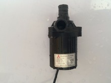 Mini Brushless DC Pump 40A-2460, 24V 840LPH 6M, Magnetic Drive Centrifugal Submersible Water Pump, for CPU Cooling